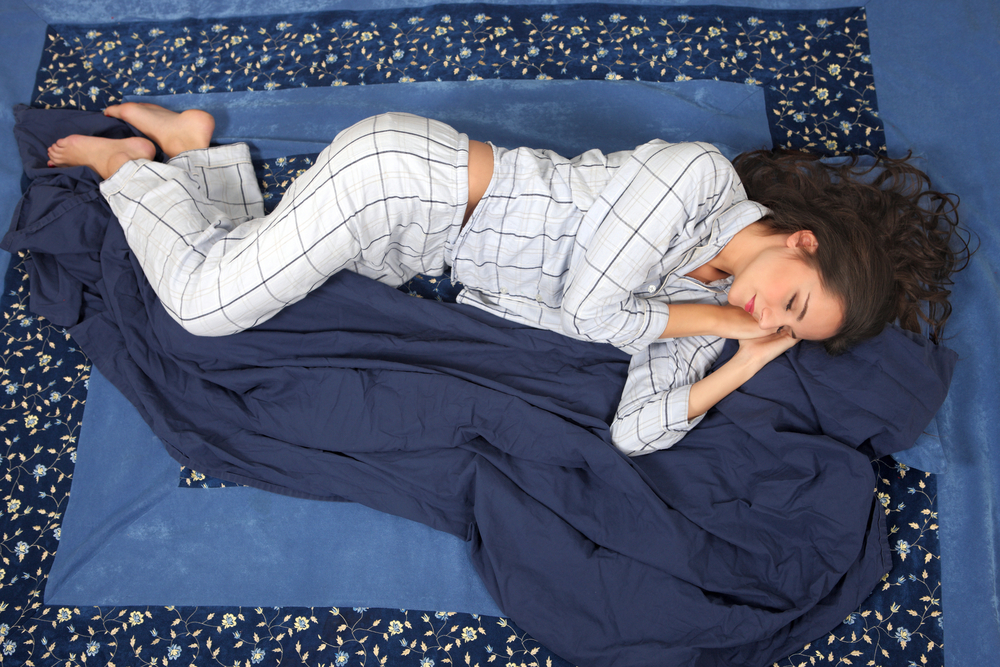 SLEEPING ON YOUR SIDE MIGHT BE GOOD FOR YOUR BRAIN